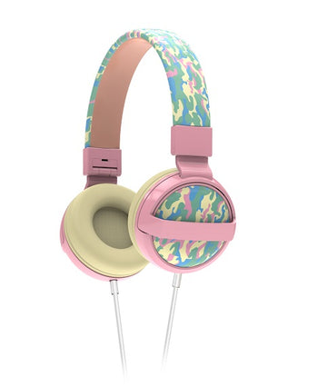 Kids SafeSounds Volume Limited Printed Headphones