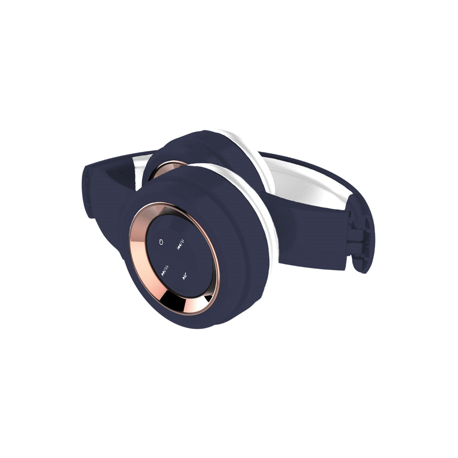 Lyrix Over Ear Foldable Bluetooth Headphones