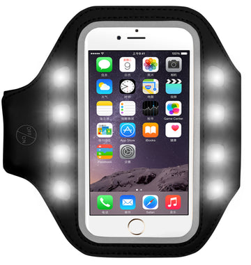 Light Up Fitness Armband for Smartphones