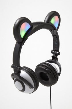 Panda  Light-up Headphones