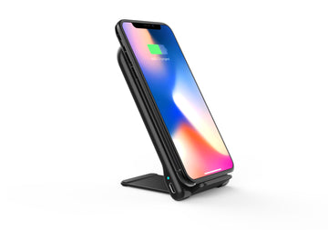 Desktop Wireless Charging Stand / Pad Combo