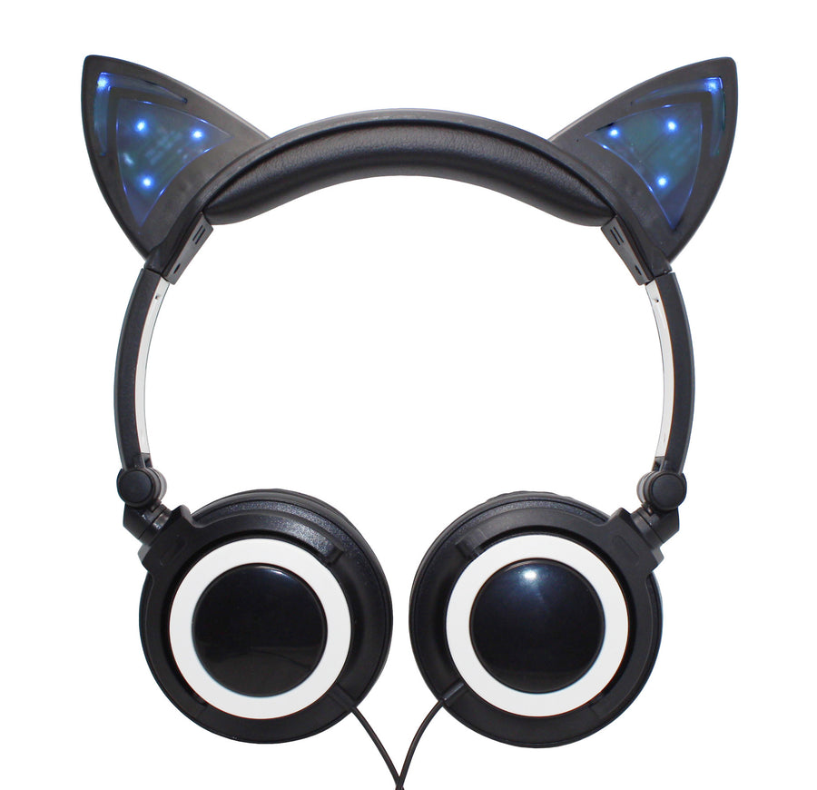 Cat Ears Light-up Headphones