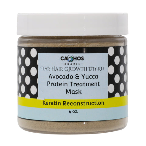Avocado & Yucca Protein Treatment Mask- Strengthing