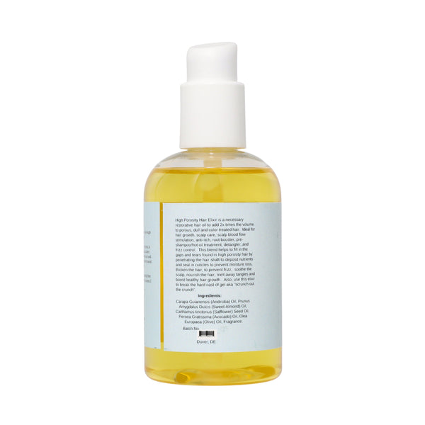High Porosity Hair & Scalp Elixir Ideal for Color Treated Hair