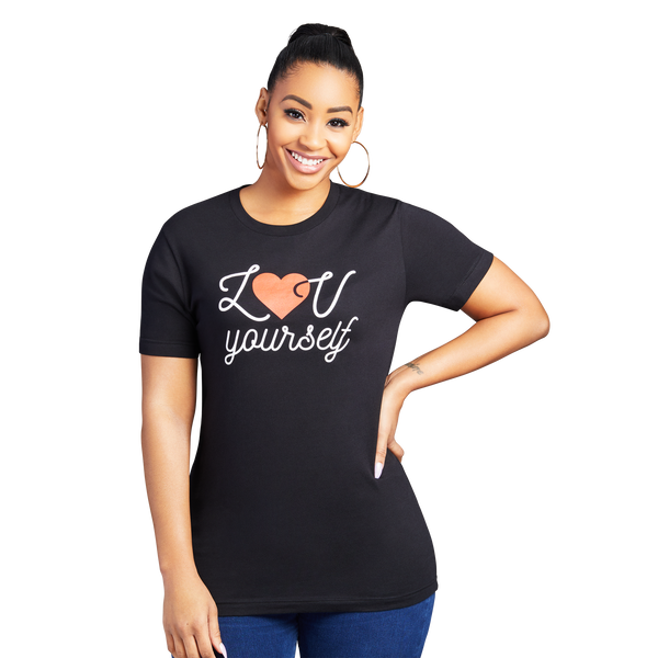 Luv Yourself Ladies Tee