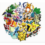 45pcs/set Pokemon Waterproof Decal