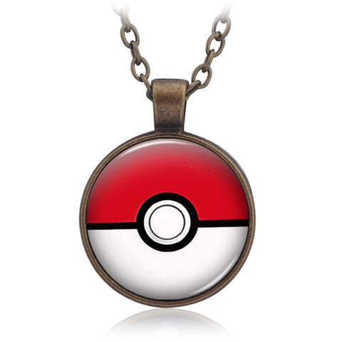 Pokeball Neckless