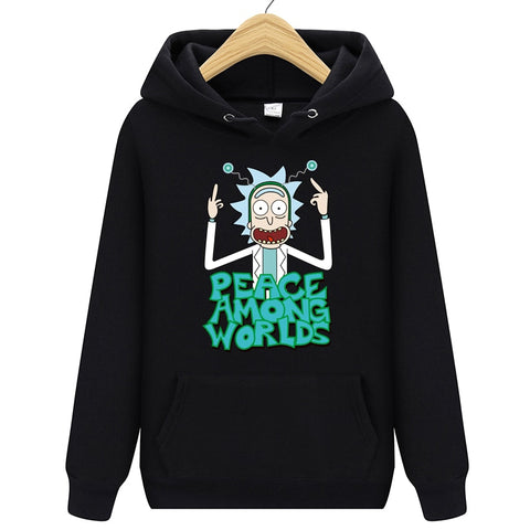 2019 Autum Design Rick and morty Hoodies