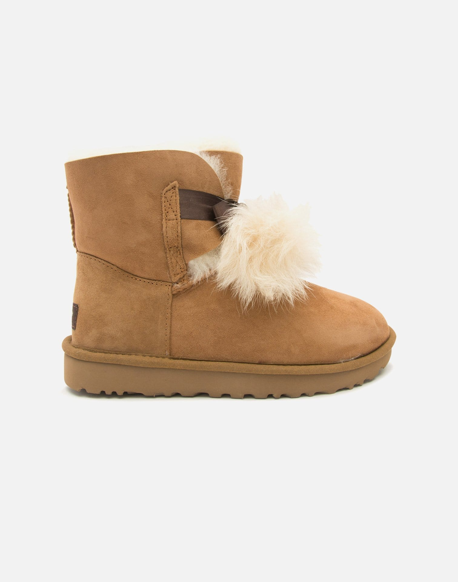 UGG Women's Gita Fur Ball Boots
