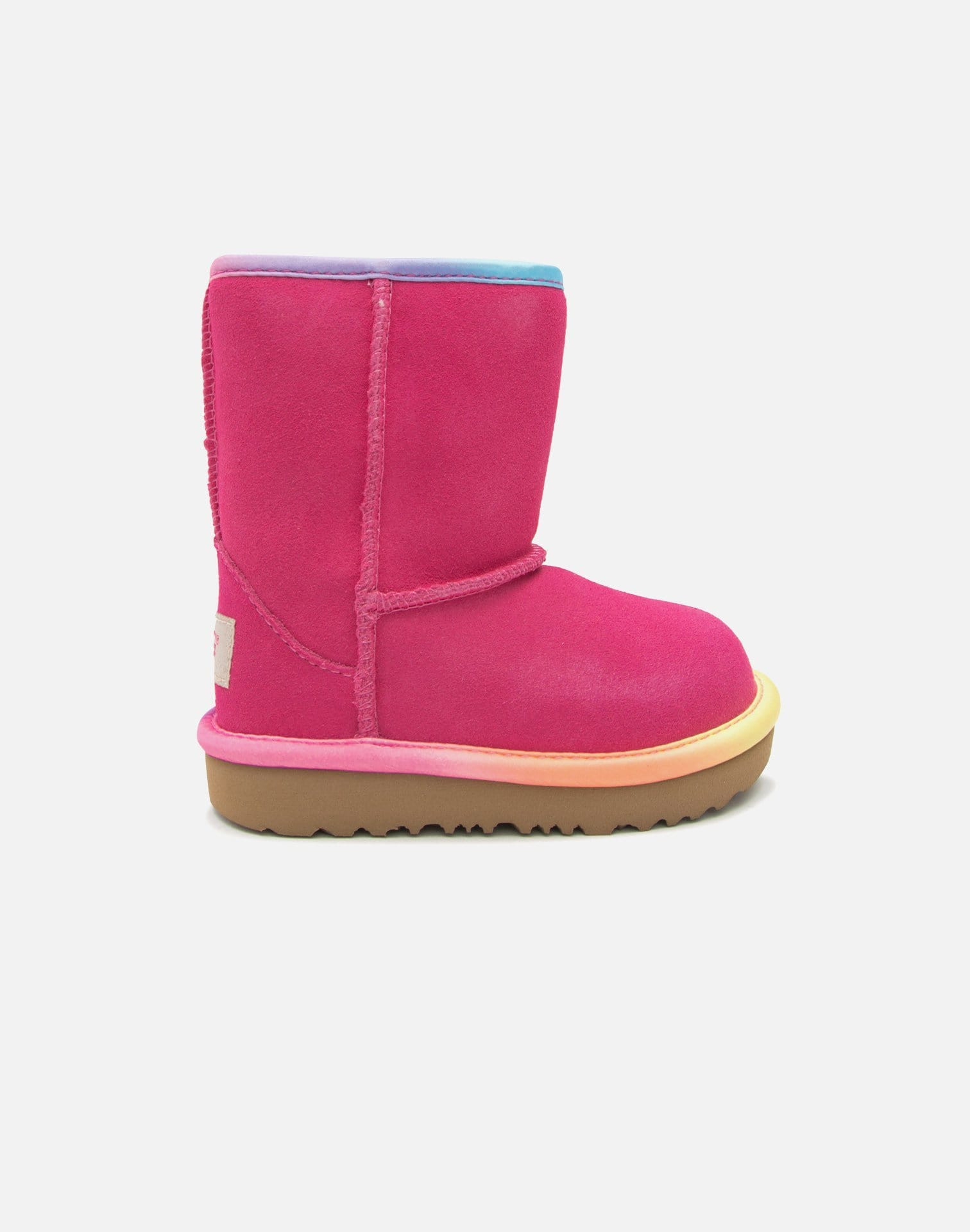 UGG Mini Classic Short II Rainbow Boots