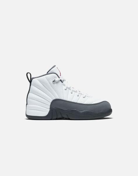 AIR JORDAN RETRO 12 'DARK GREY' GRADE-SCHOOL
