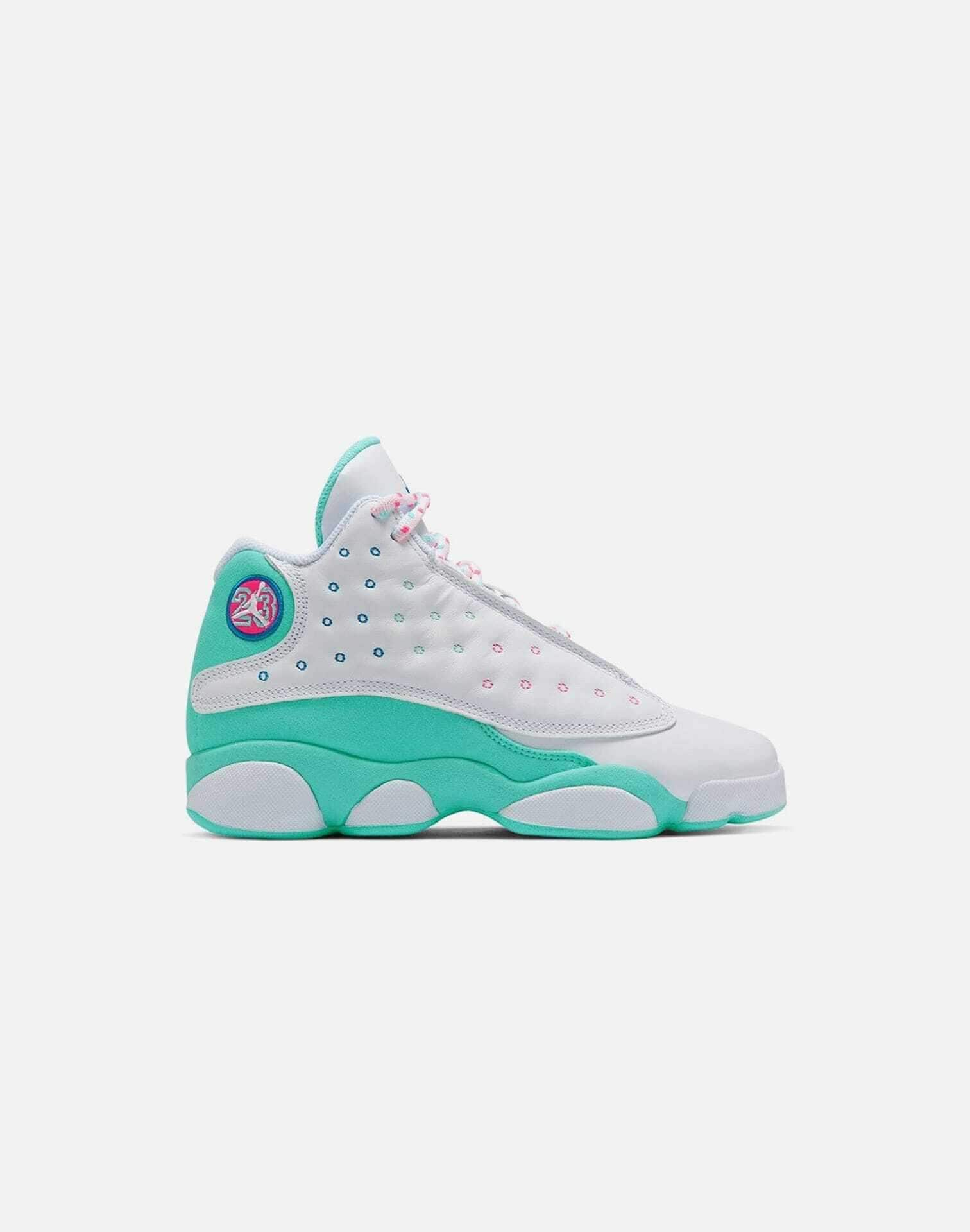 Jordan AIR JORDAN RETRO 13 'AURORA GREEN' GRADE-SCHOOL
