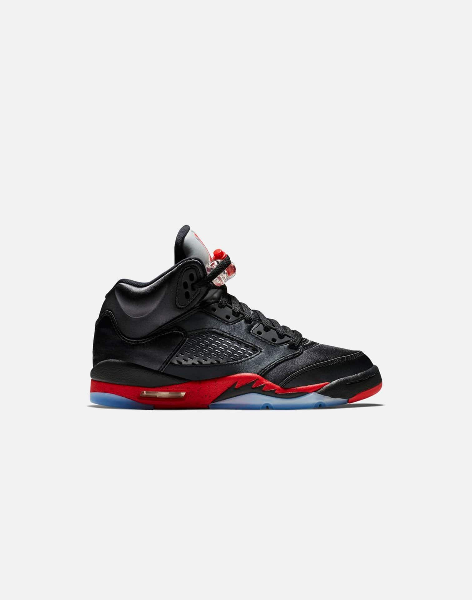 Jordan Air Jordan Retro 5 'Satin Bred' Grade-School