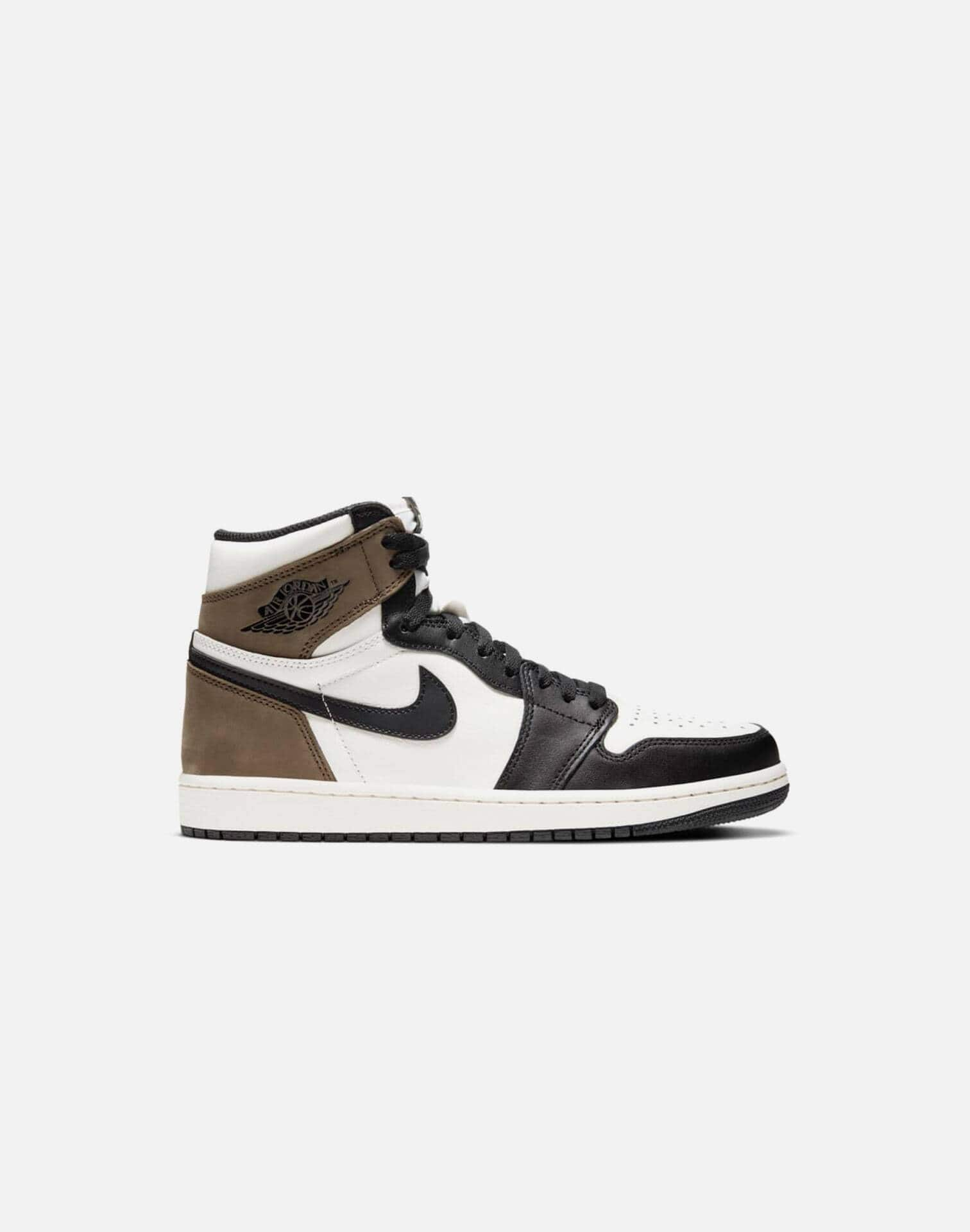 Jordan AIR JORDAN RETRO 1 HIGH OG 'DARK MOCHA' GRADE-SCHOOL