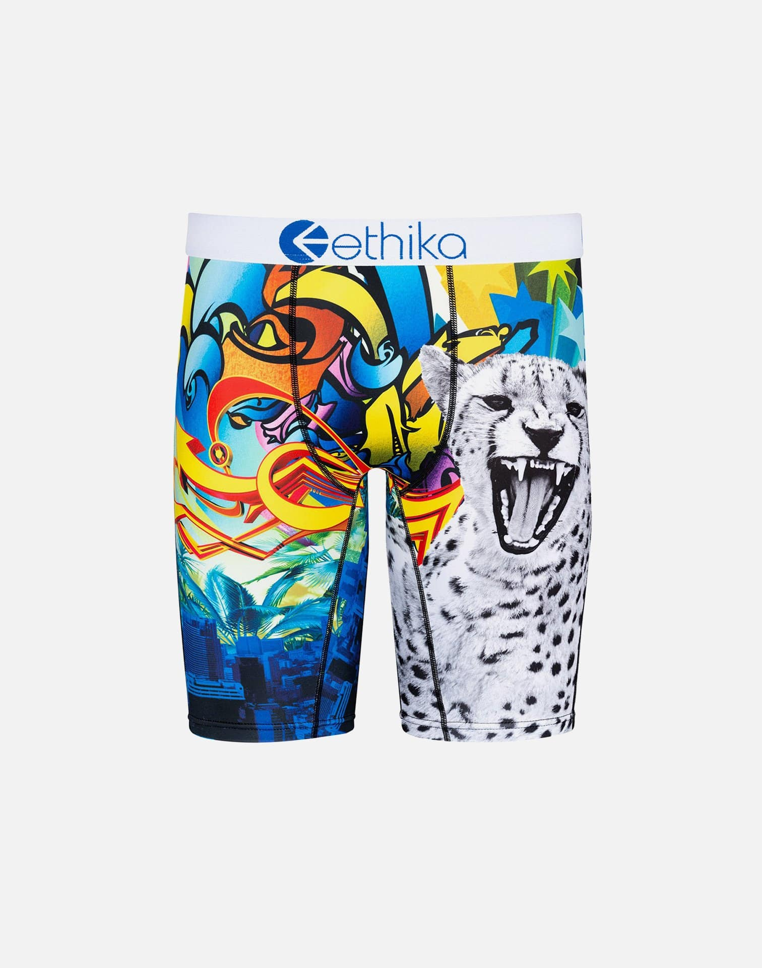 BOYS' CONCRETE JUNGLE BOXER BRIEFS