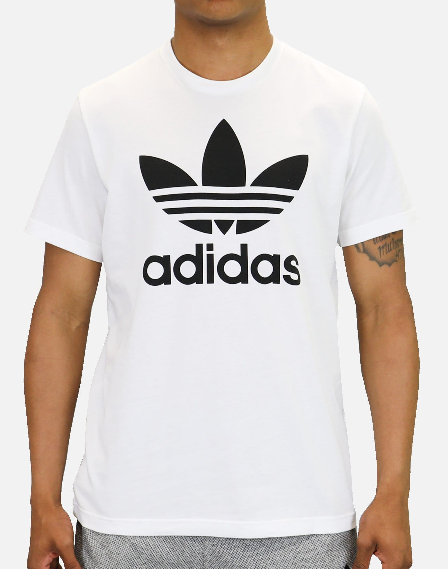 adidas Originals Trefoil Tee (White/Black)