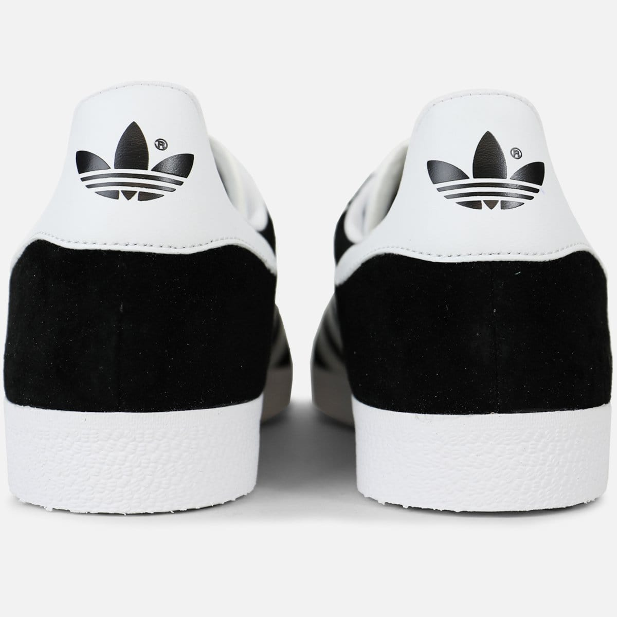 adidas Gazelle (Black/White-Metallic Gold)