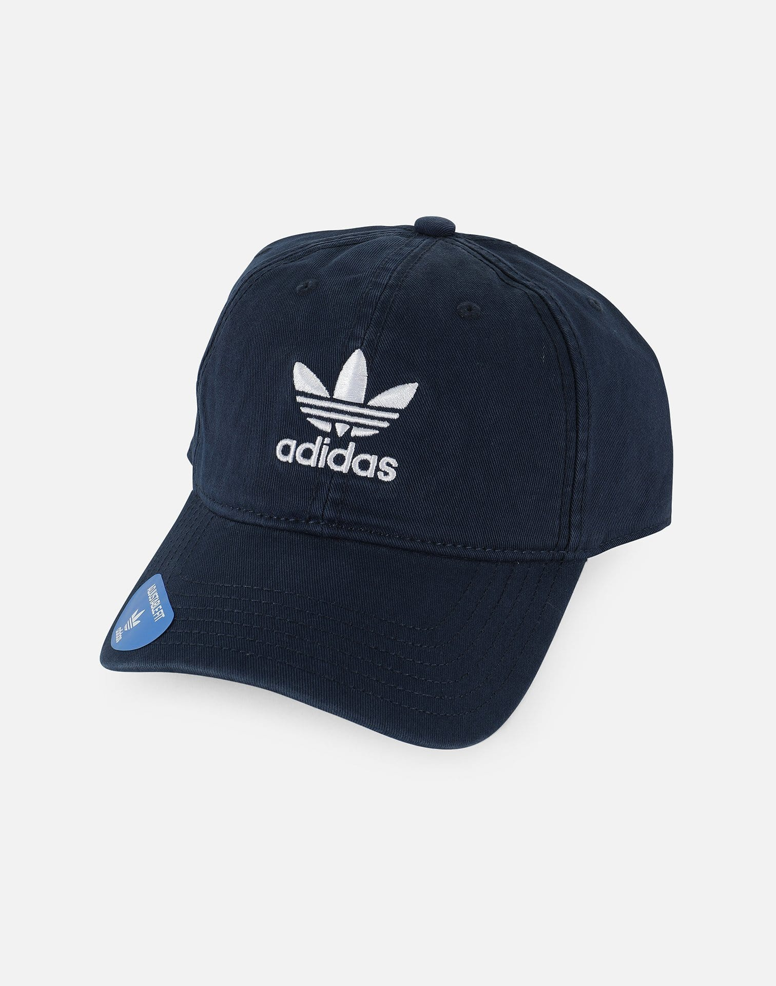 adidas Originals Precurved Washed Strapback Hat