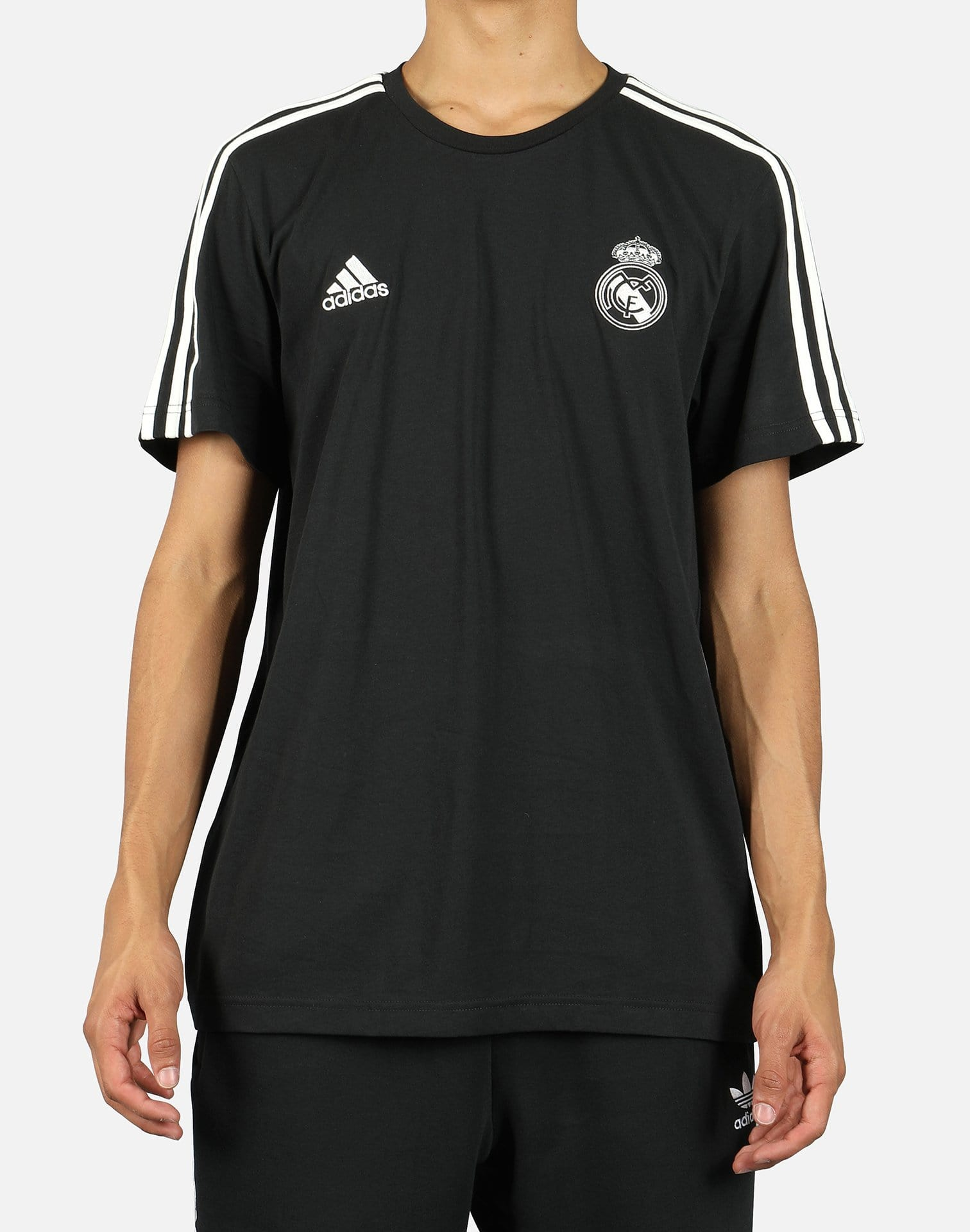 REAL MADRID 3-STRIPES TEE