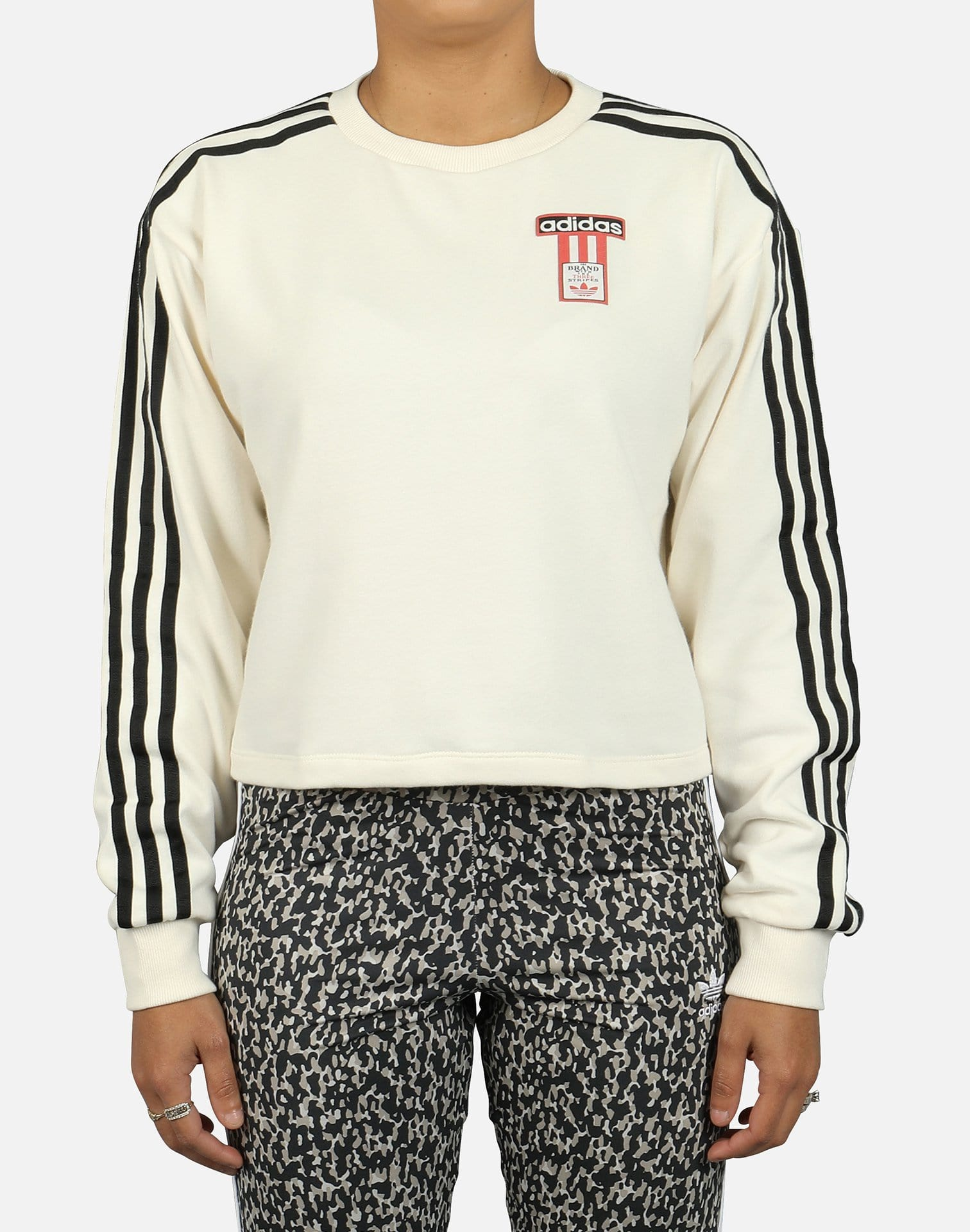 adidas Women's Adibreak Terry Logo Sweatshirt