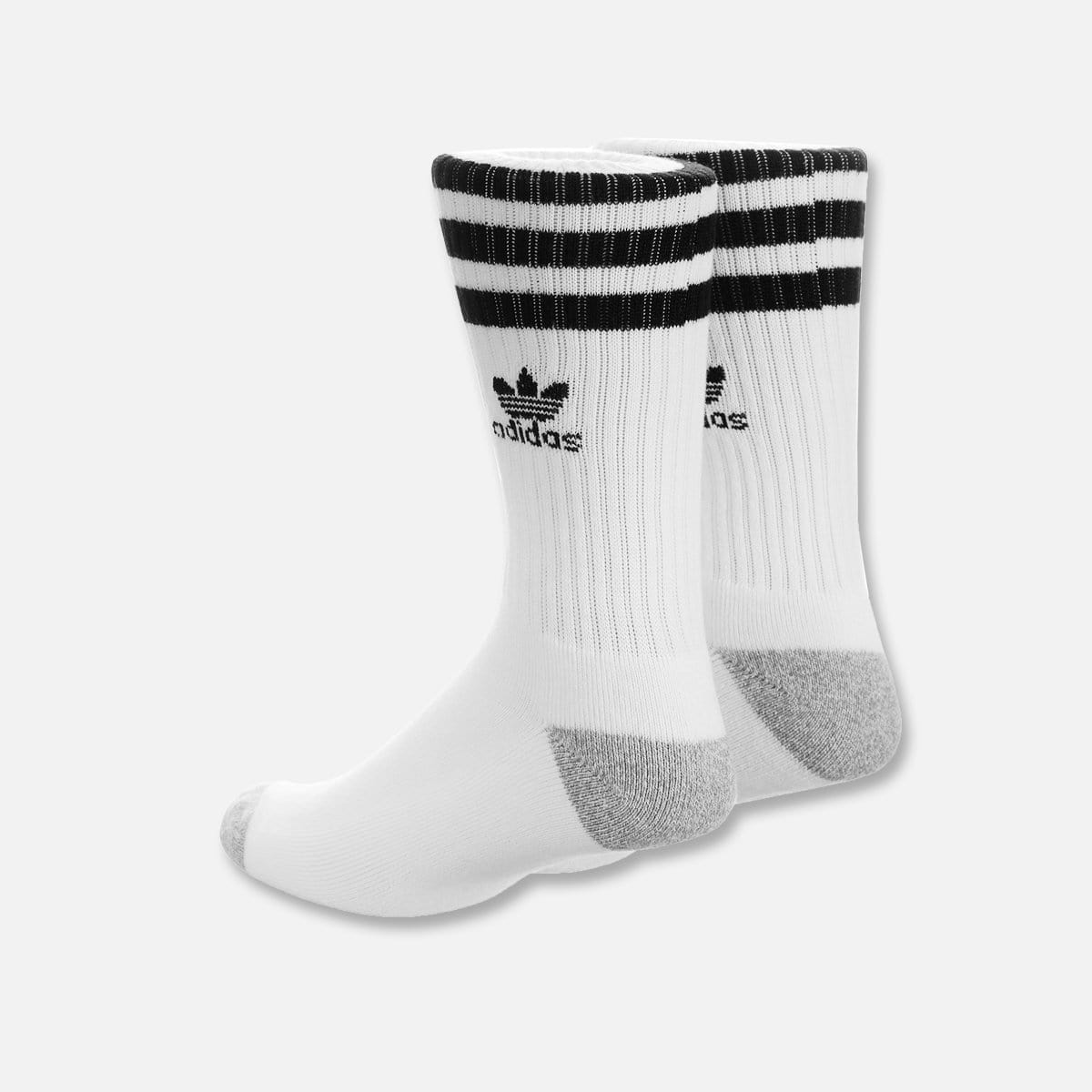 RUVilla.com is where to buy the adidas Roller Crew Sock (White/Black)!