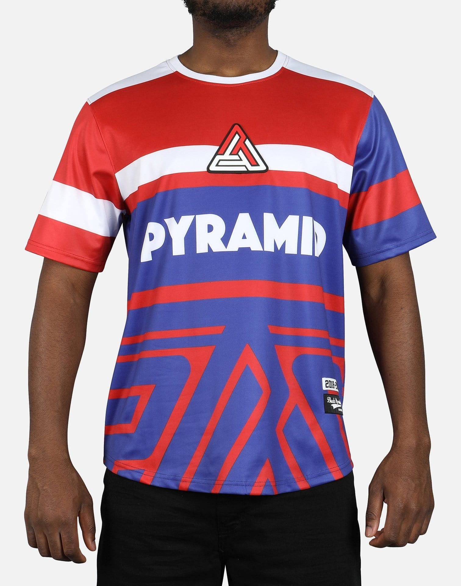 Black Pyramid Abstract Pyramid Tee