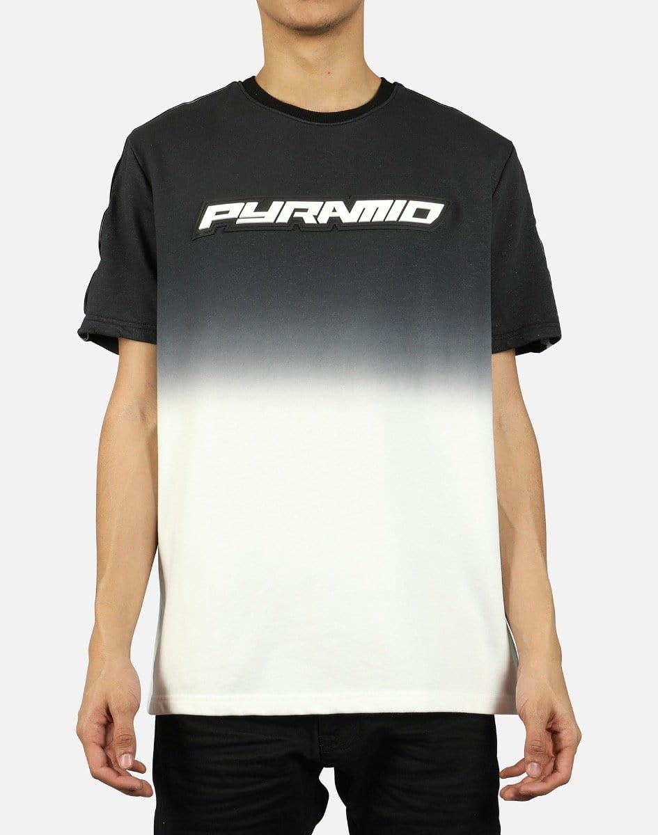 Black Pyramid Men's Dip Dye Pastel Tee