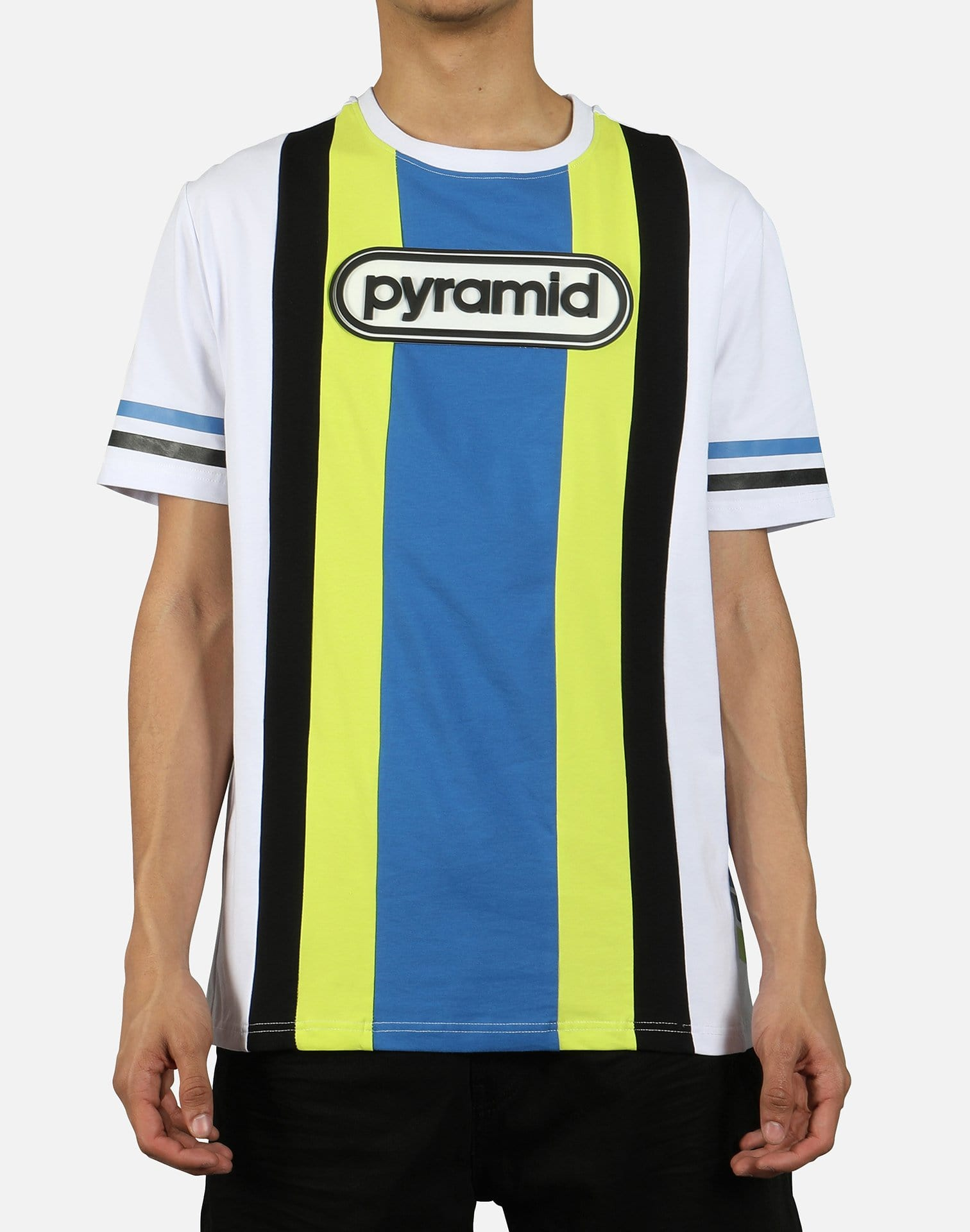 Black Pyramid Men's Team OHB Stripe Tee