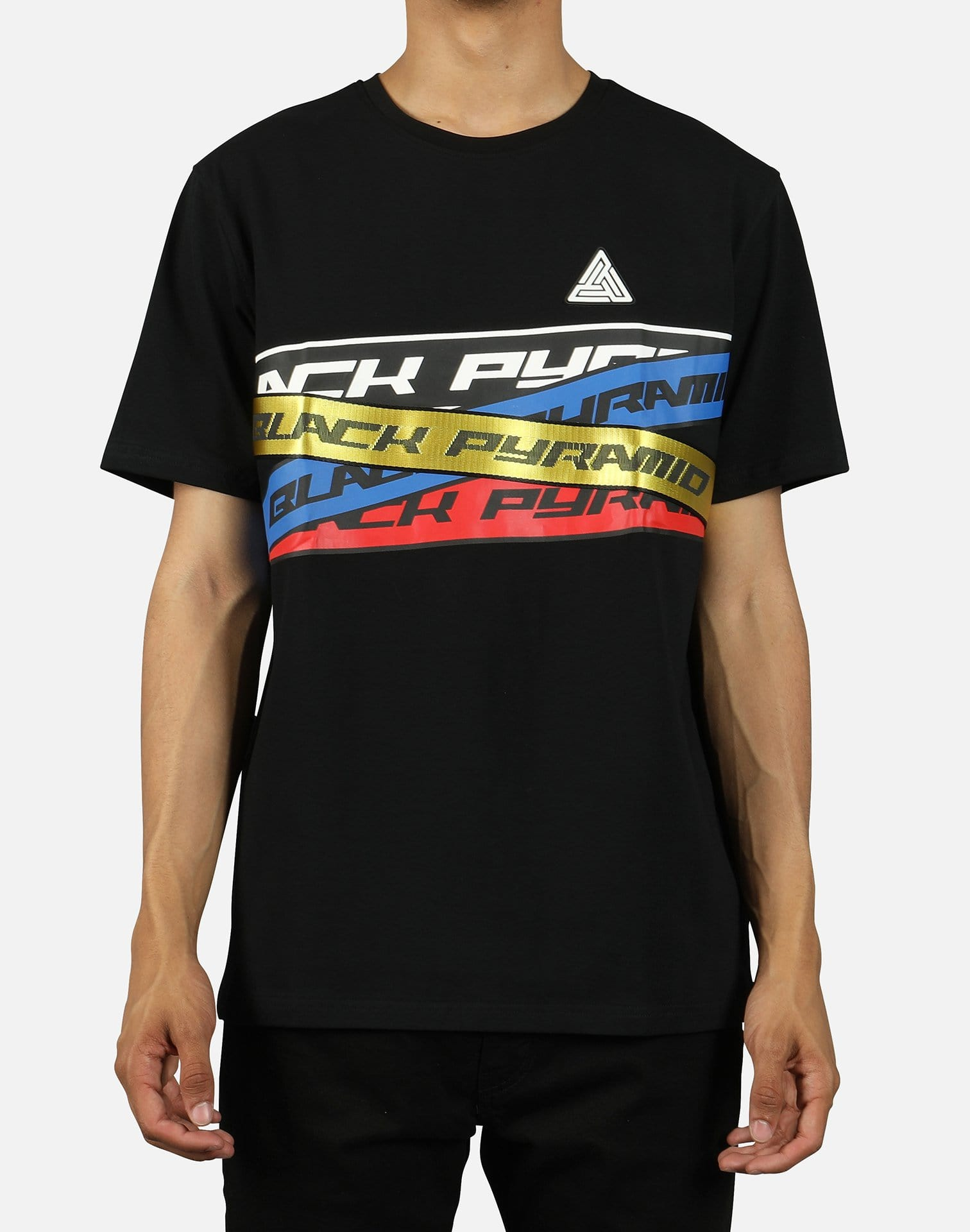Black Pyramid Men's Overlapping Tape Tee