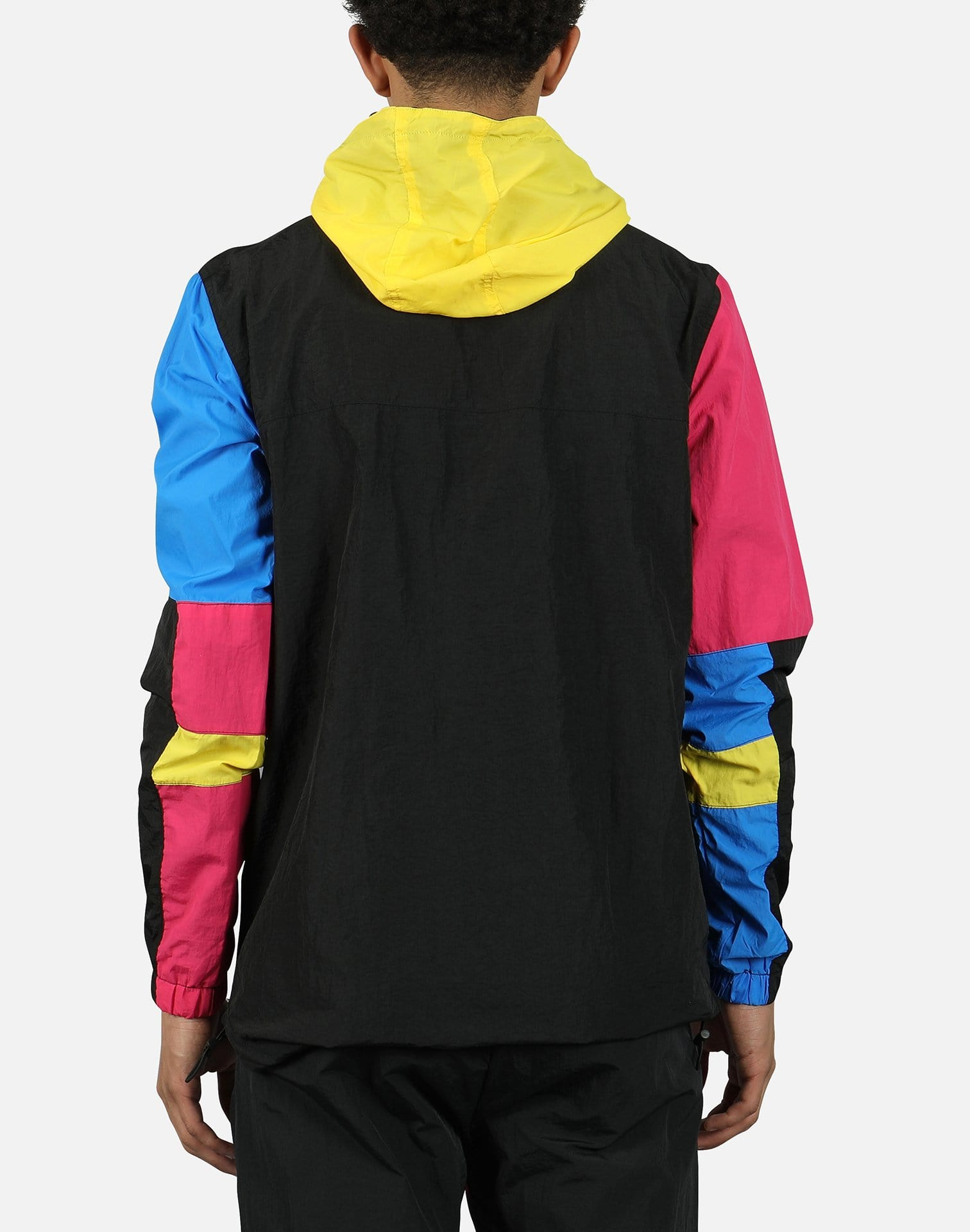 Black Pyramid Men's Tech Colorblock Pullover Jacket