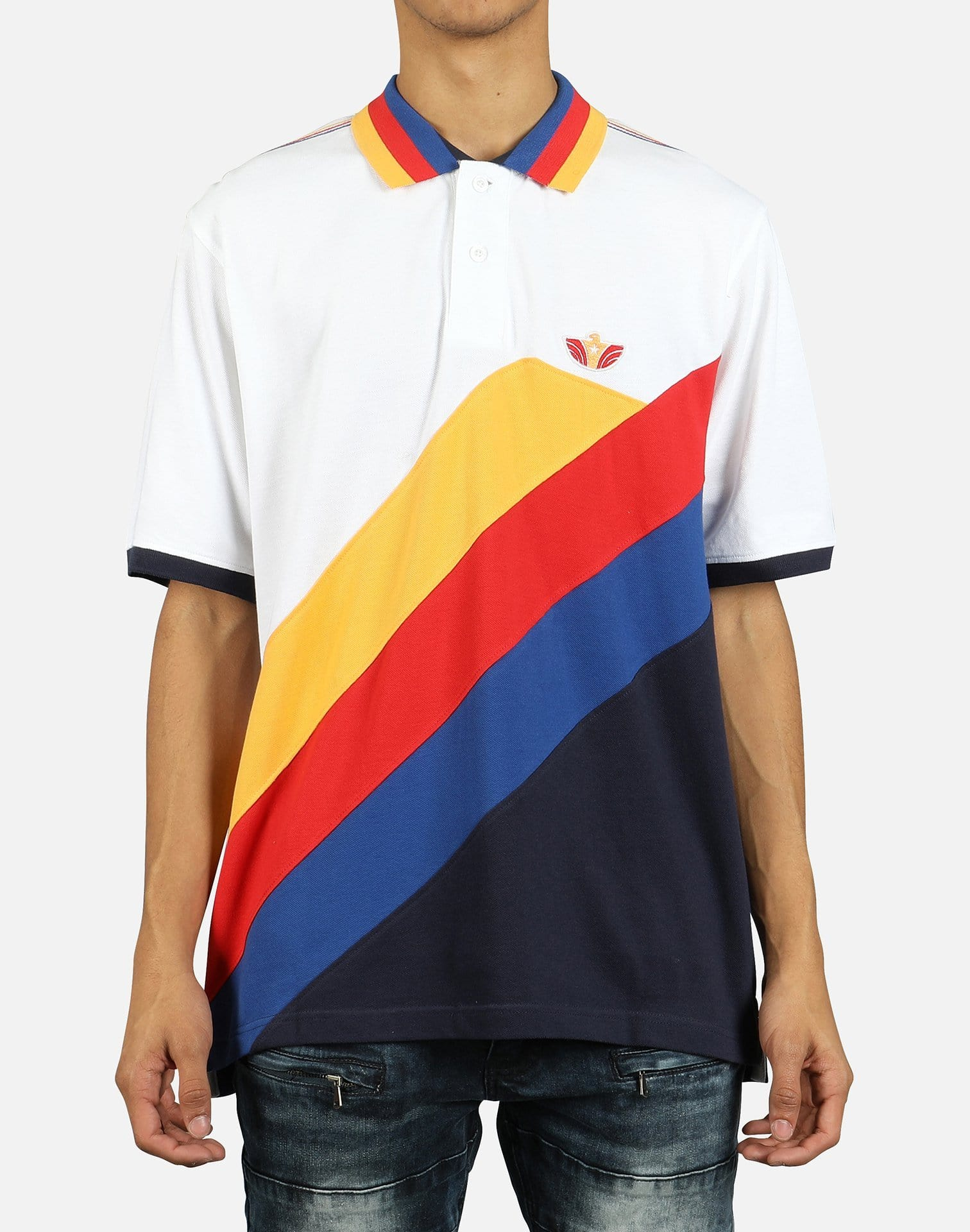 CHAMPION REVERSE WEAVE SS TEE MENS GT19-Y06820-2WC TEAM RED SCA