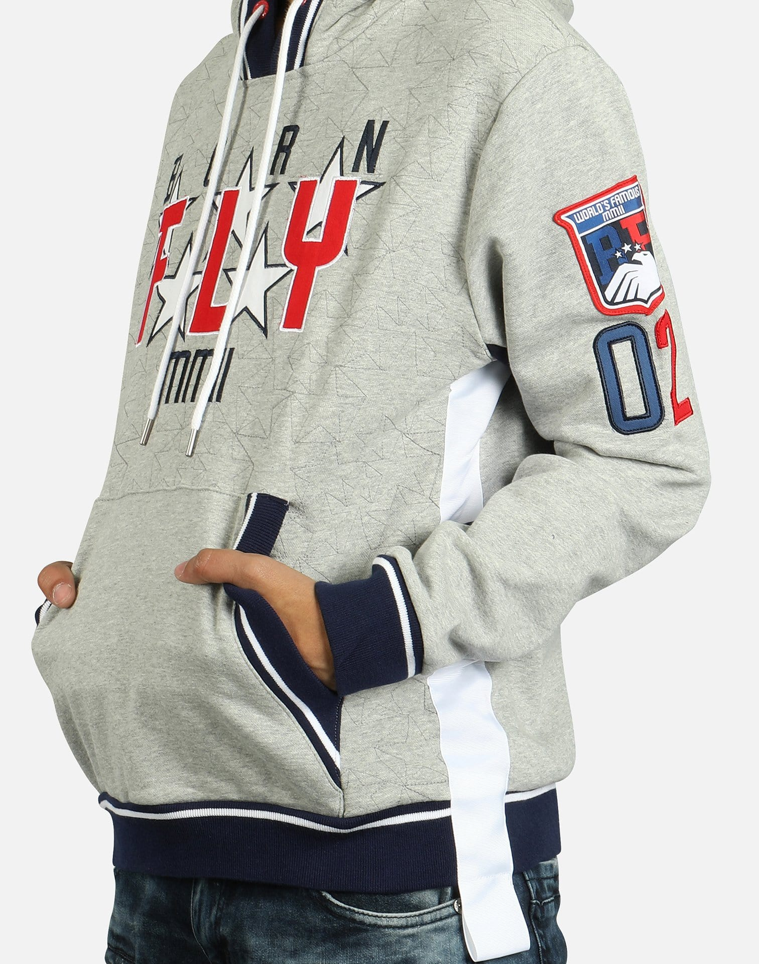 Born Fly Men's Short Track Hoodie