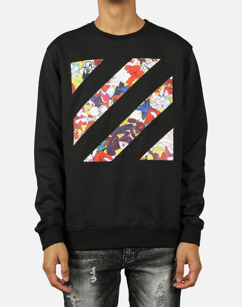 SLASH LONG-SLEEVE CREW