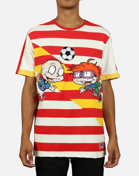RUGRATS SOCCER STRIPED TEE
