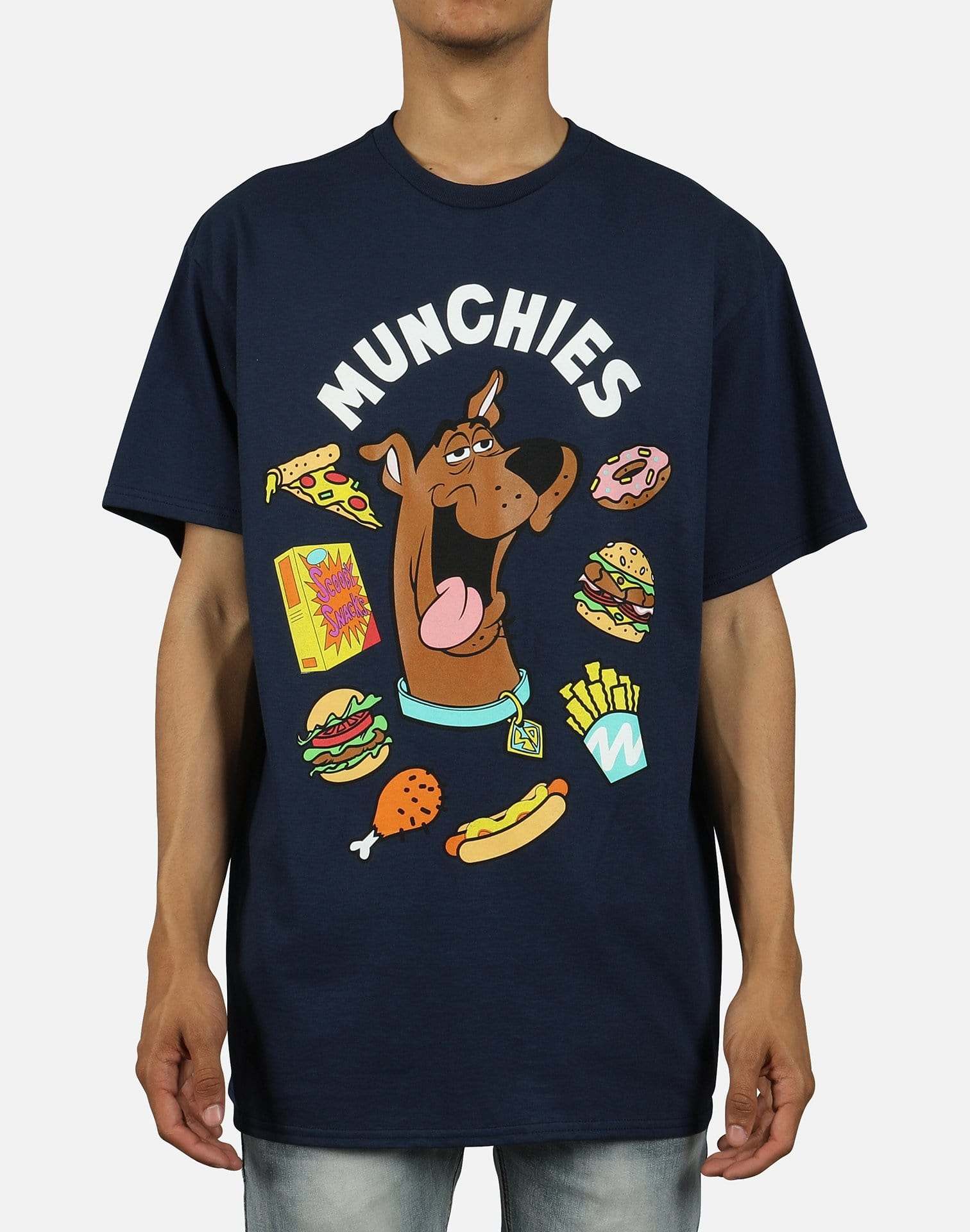 Central Mills Inc. Men's Scooby Munchies Tee