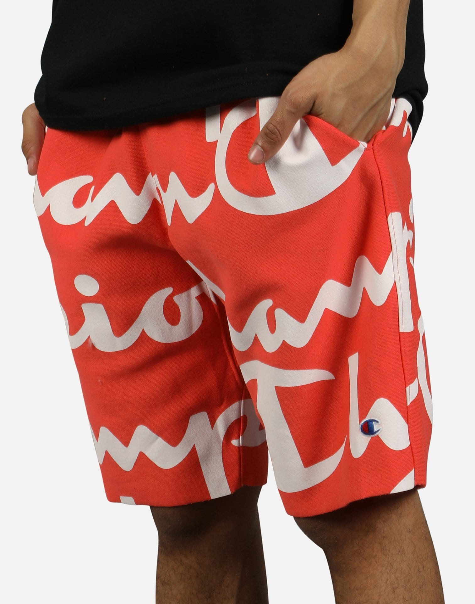Champion Men's Reverse Weave AOP Cut-Off Shorts