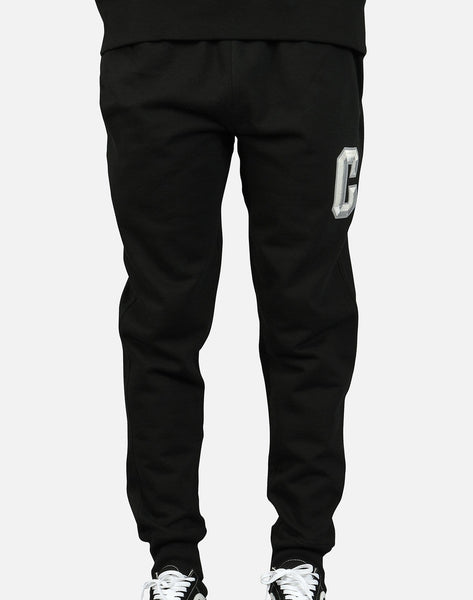 Champion Men's Reverse Weave Floss Stitch C Logo Jogger Pants