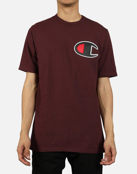 Champion Men's Life C Applique Logo Tee