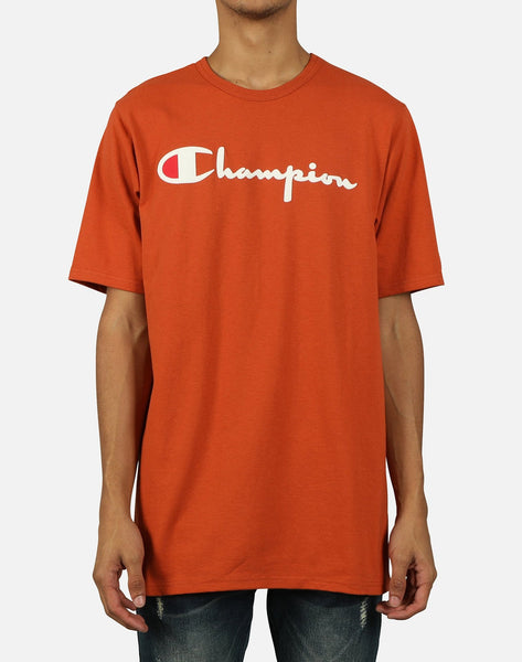 Champion Men's Heritage Direct Flock Tee