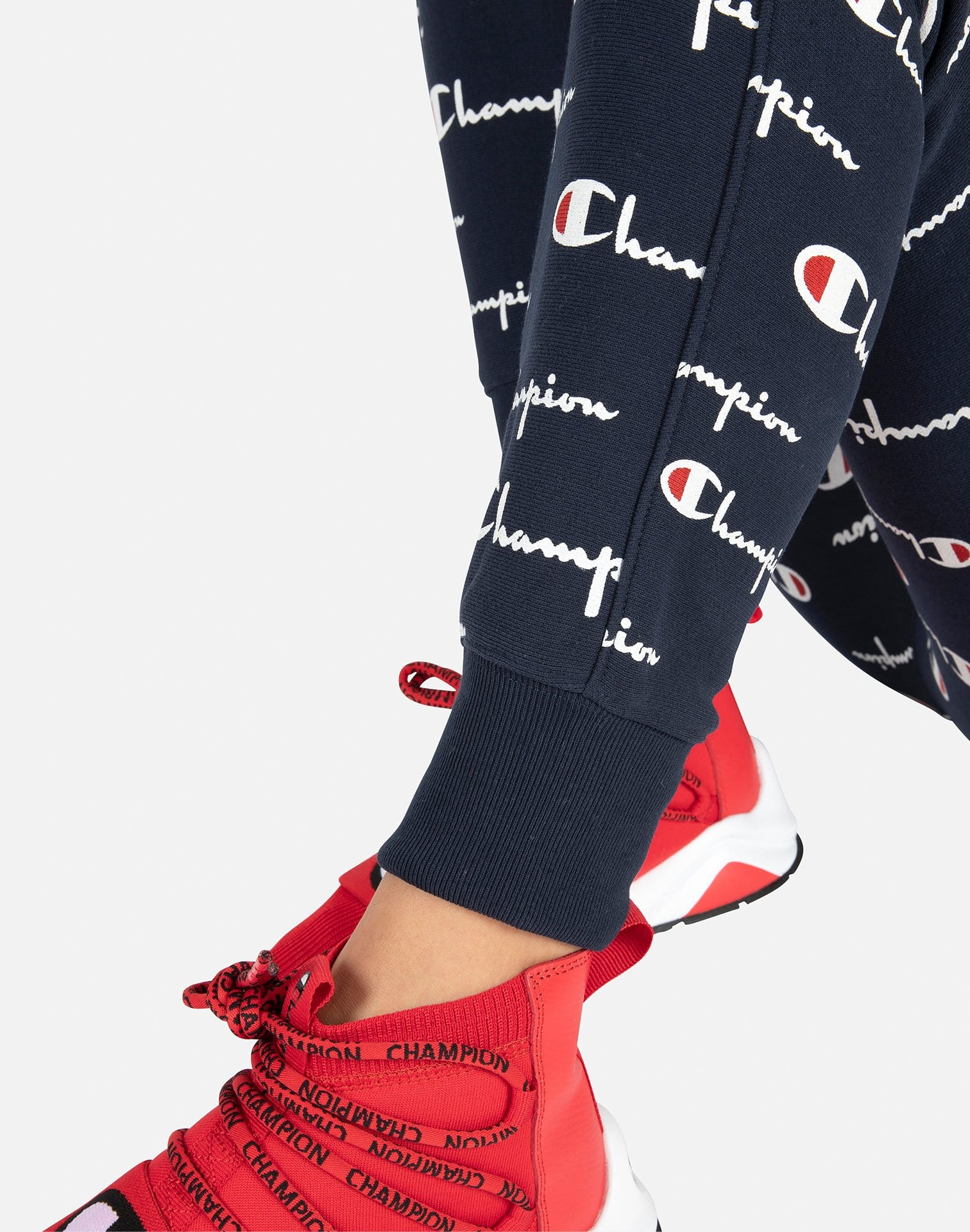 Champion Women's All-Over Print Jogger Pants