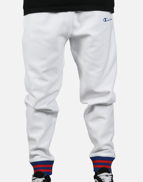Champion Men's Reverse Weave Yarn Dyed Cuff Sweatpants