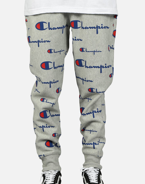 Champion Men's Reverse Weave AOP Jogger Pants