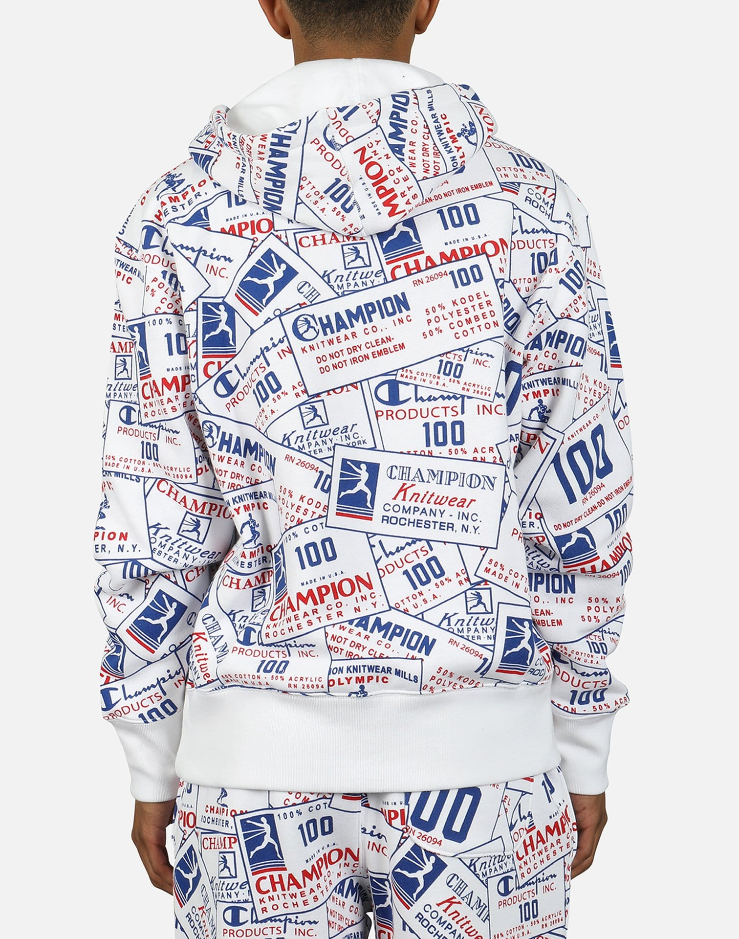 Champion Men's All Over Print Hoodie