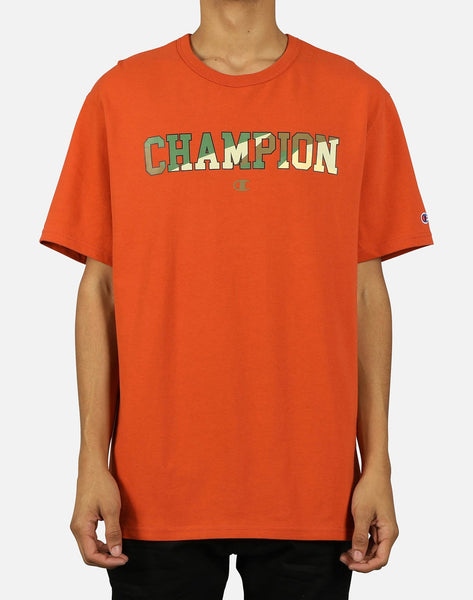 Champion Men's Shatter Logo Block Tee