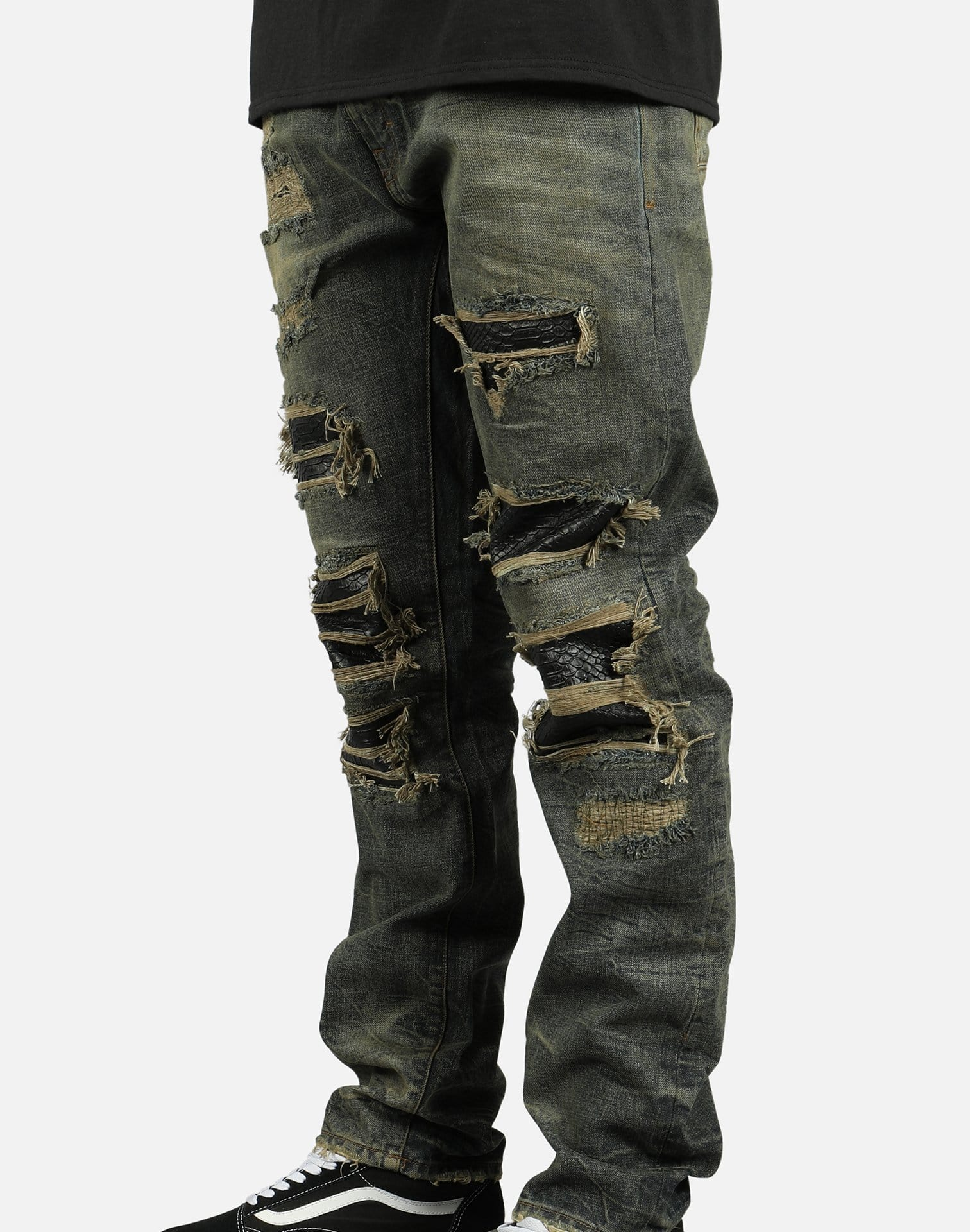 C02 Men's Ripped Jeans