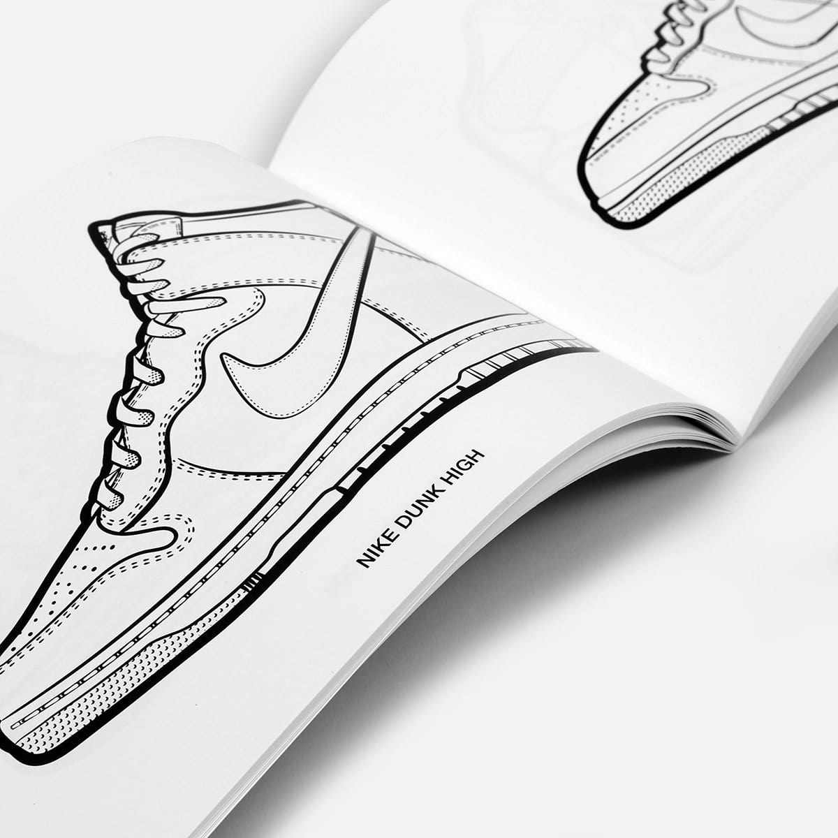 Colorways - A Sneaker Coloring Book