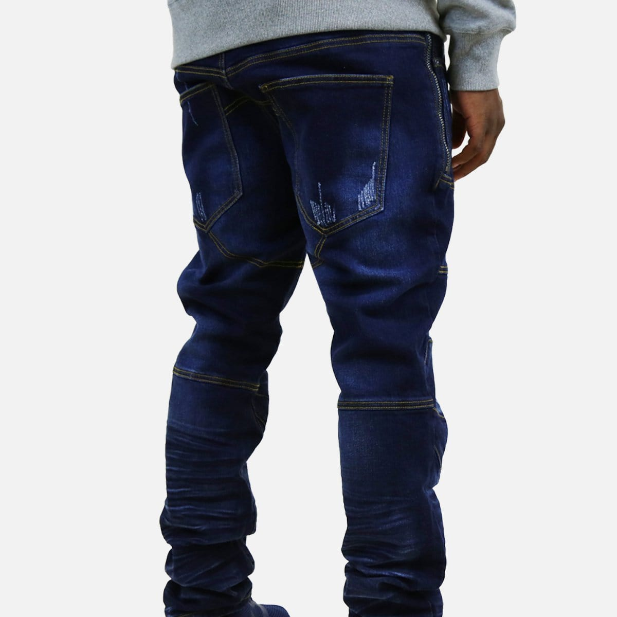 Denim House Racer Denim Jean (Dark Blue)