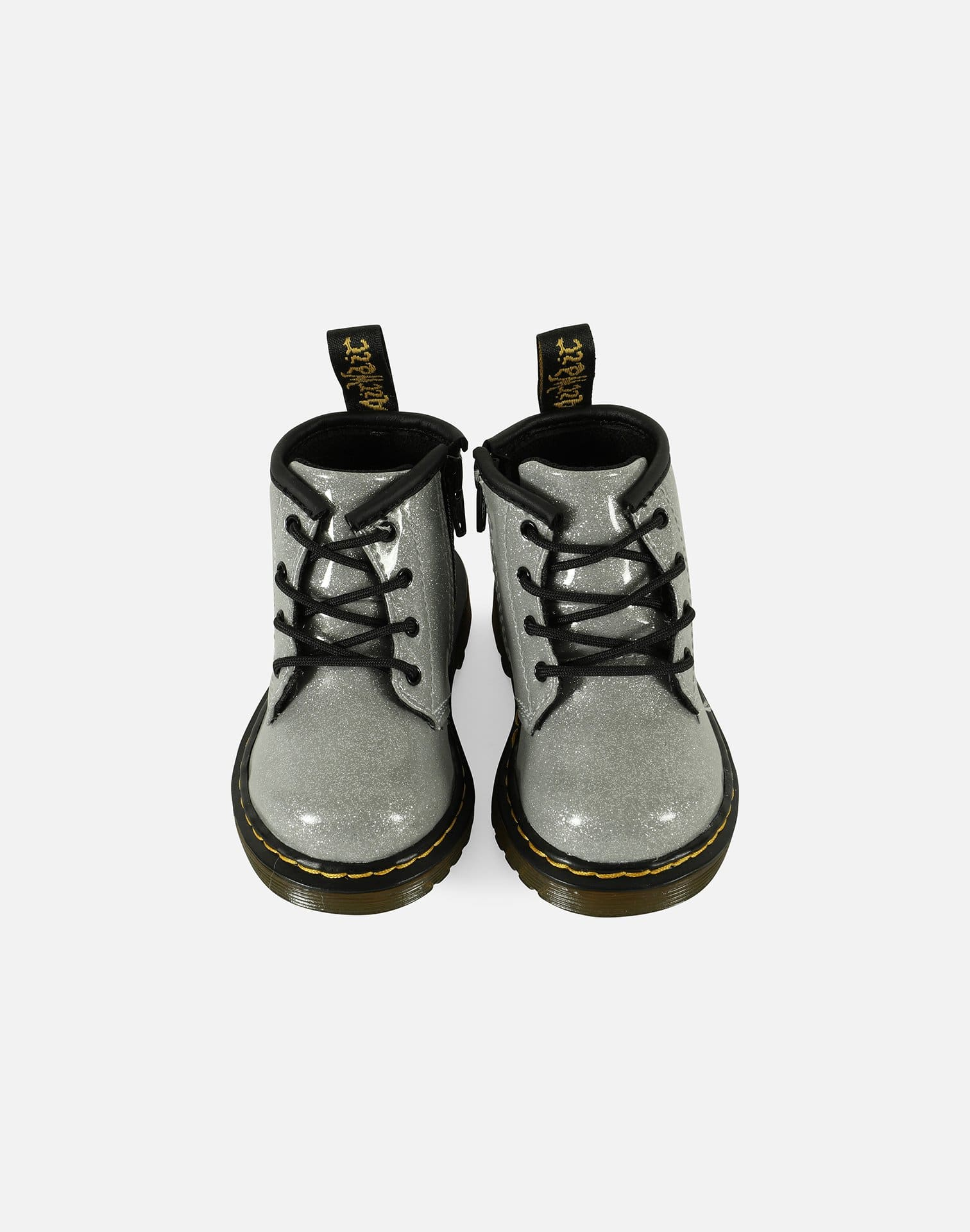 Dr. Martens 1460 Flitter Patent Leather Boots Infant