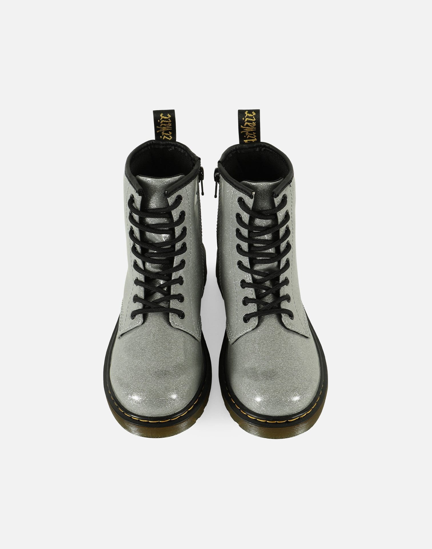 Dr. Martens 1460 Glitter Patent Leather Boots Pre-School