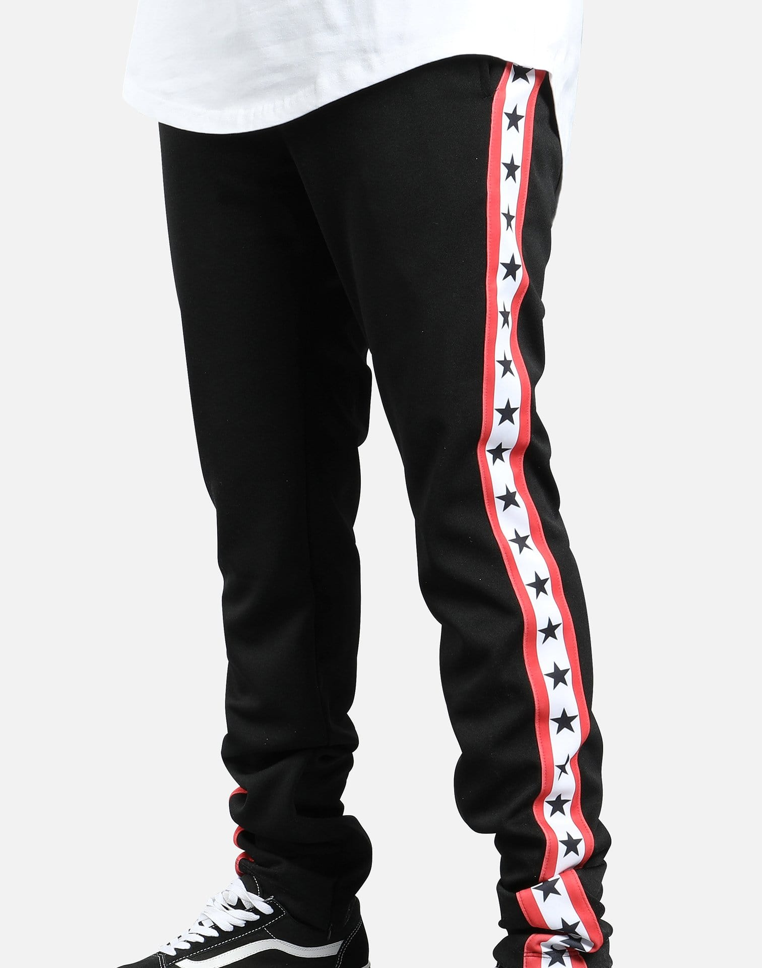 GRAPHIC STARS TRACK PANTS